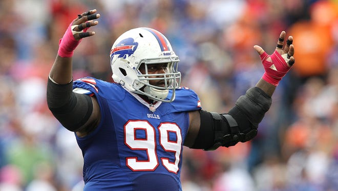It is uncertain how long Marcell Dareus' rehab stint will last.