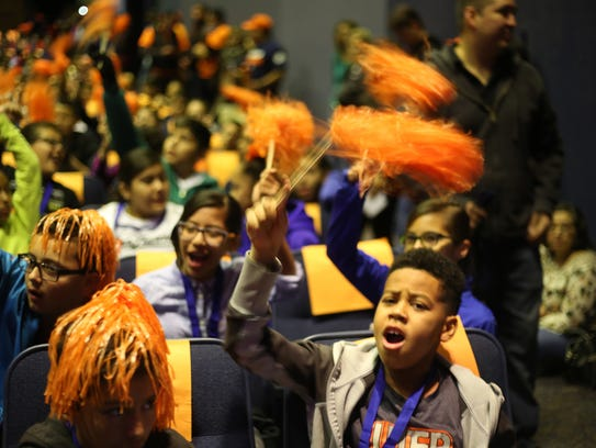 About 1,000 sixth-graders participated in the Young
