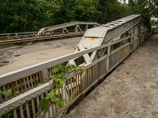 The bridge was closed last April amid safety concerns.
