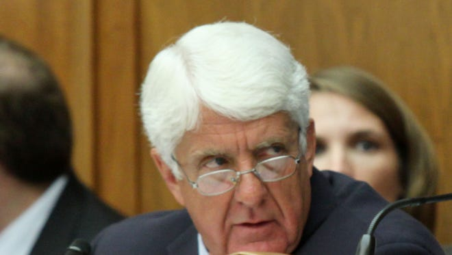 House Natural Resources Chairman Rep. Rob Bishop, R-Utah, on Capitol Hill on Sept. 17, 2015, during a joint Oversight and Reform Committee-Natural Resources Committee hearing.