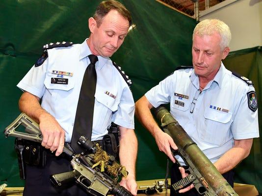 EPA (FILE) AUSTRALIA GUN AMNESTY CLJ JUDICIARY (SYSTEM OF JUSTICE) LAWS POLICE AUS QU