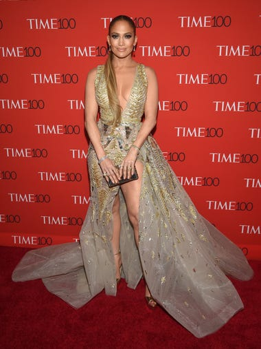 Jennifer Lopez attends the Time 100 Gala celebrating