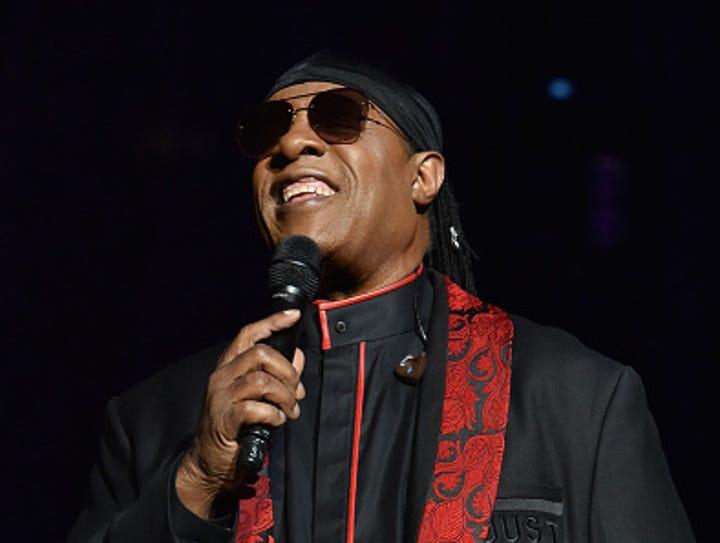 Stevie Wonder performs onstage during Stevie's 21st