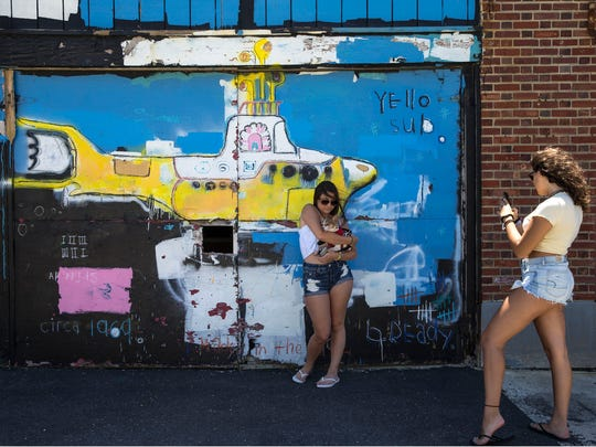 A vast amount of murals can be seen along the Asbury Park Boardwalk. South end near the Casino building. Asbury Park, NJThursday, July 19, 2018@Hood73
