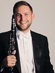 Ralph Skiano, new principal clarinetist of the Cincinnati
