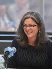 Holly Leicht, regional administrator for HUD, speaks
