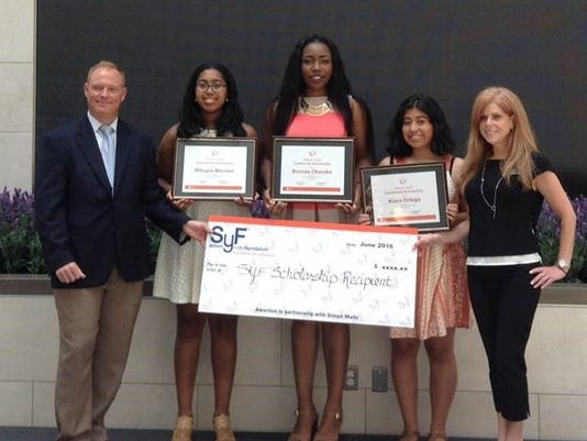 Simon Youth Foundation award of Excellence Scholarships