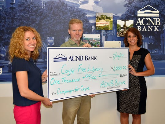 ACNB Bank's contribution in support of The Campaign