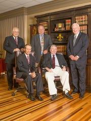 Joel Gooch,Timothy McNamara, John Jeansonne,Jr., James Davidson, III and Patrick Juneau.