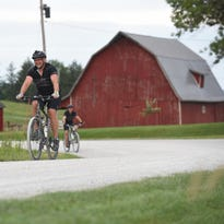 Gravel road riding is becoming increasingly popular among local cyclists.