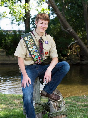 New Eagle Scout Peter Wynne (provided)