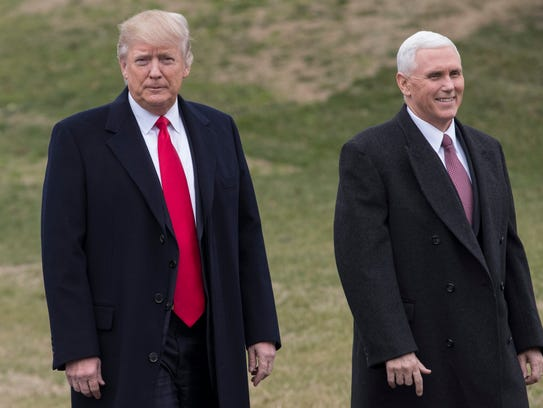 Vice President Mike Pence, right, is expected to be