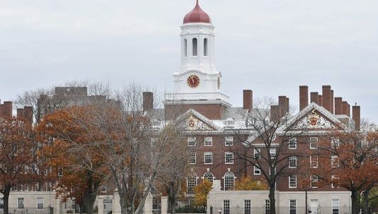 Harvard campus in a 2008 file photo.