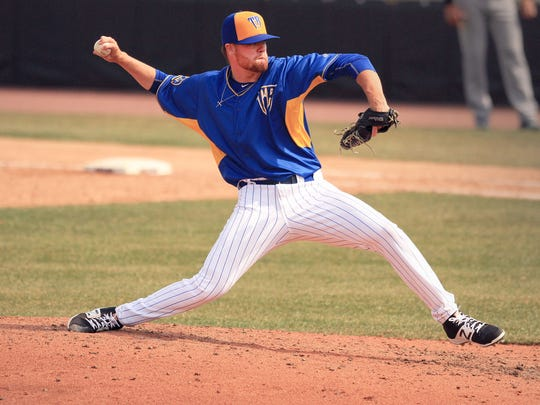 Braden Webb is pitching this season with the advanced