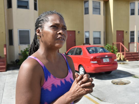 Charlene Brooks, 48, talks about her next-door neighbors