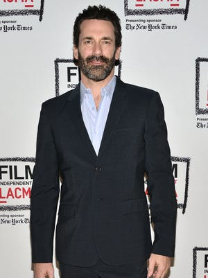 Jon Hamm attends a 'Mad Men' tribute on March 26.