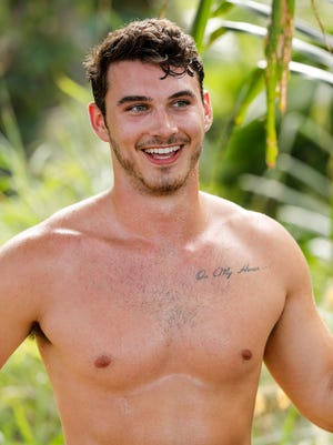 "Knoxville native Michael Yerger is a contestant on ""Survivor: Ghost Island."""