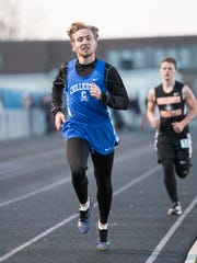 Max Greisheimer is a top contender in the 800, 1600, and 3200 meter runs during the FAC Championships.