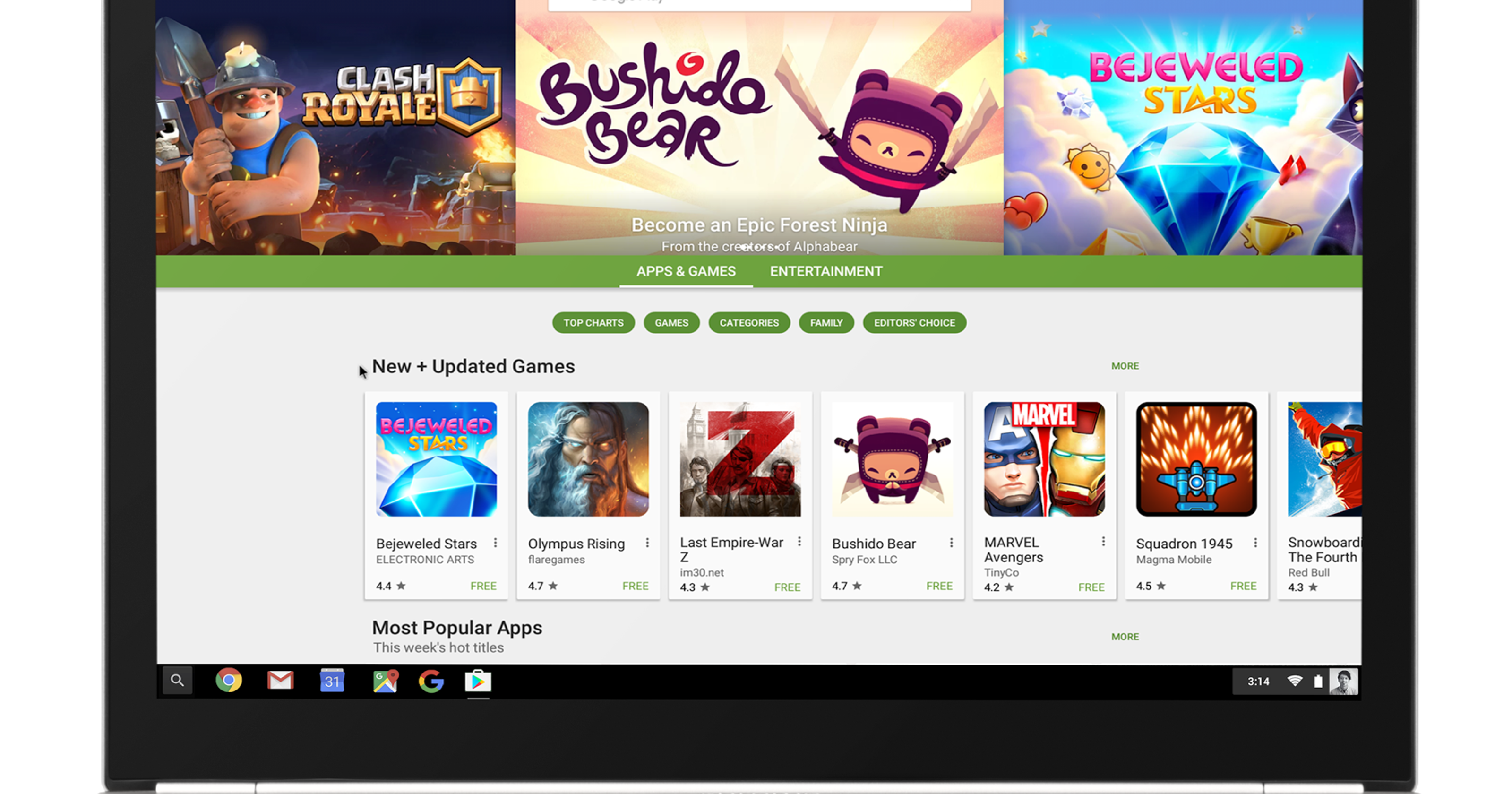 Chromebooks outsell Macs, get big boost with app store