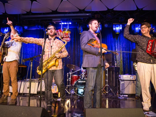 GRAMMY®-nominated artists, The Revelers, perform at