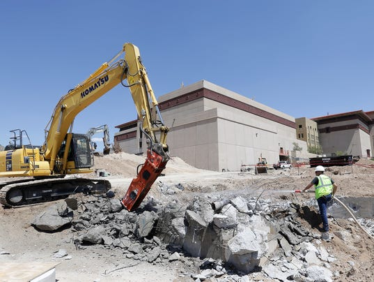 Utep 85m interdisciplinary research building taking for New construction el paso tx