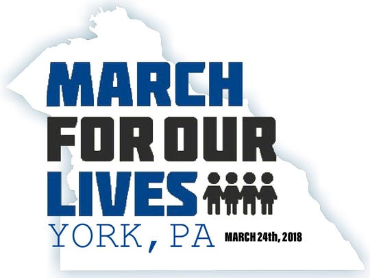March for Our Lives York logo.