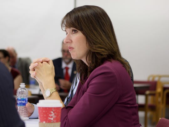 Brevard County School Board member Tina Descovich at
