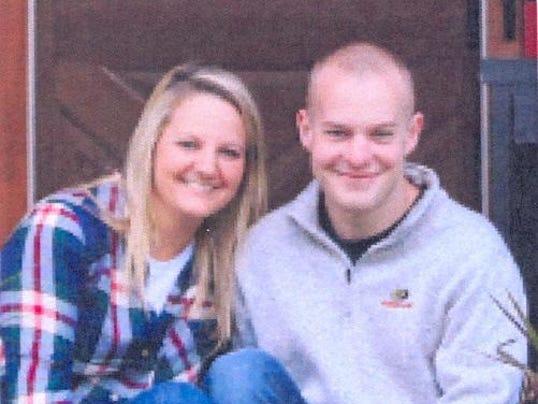 Sara Jones and Brandon Hardesty