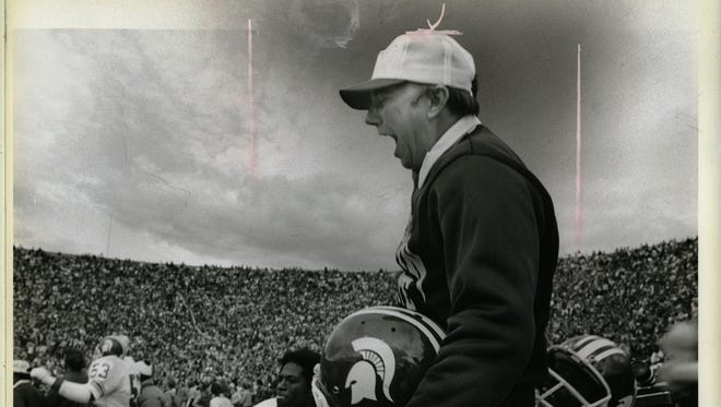Darryl Rogers at Michigan State.