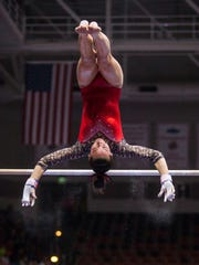 Southern Utah's Kirsten Yee was recruited to do floor, her coach says. Now, she owns the bars.