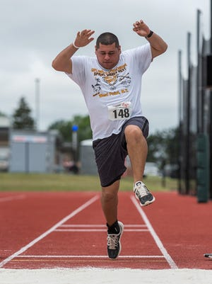 LaGrange's Richard Fishwick competes in a track and field event in the Special Olympics. The Summer Games will be played in Dutchess County in 2019 and 2020.