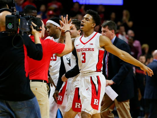 NCAA Basketball: Nebraska at Rutgers