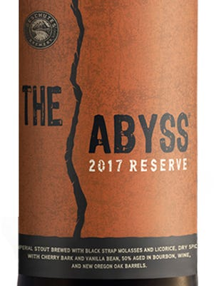 Deschutes The Abyss 2017 Reserve, from Deschutes Brewery in Bend, Ore., is 11.4% ABV.