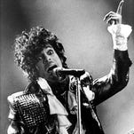 Prince performs in Cincinnati in 1985.