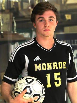 Monroe's Matt Mischler is the HNT All-Area Boys Soccer Player of the Year.
