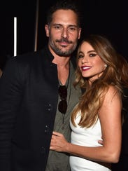 Actors Joe Manganiello and Sofia Vergara on April 21,