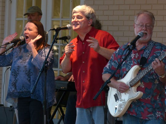 The Reunion Band performs during the Christopher's