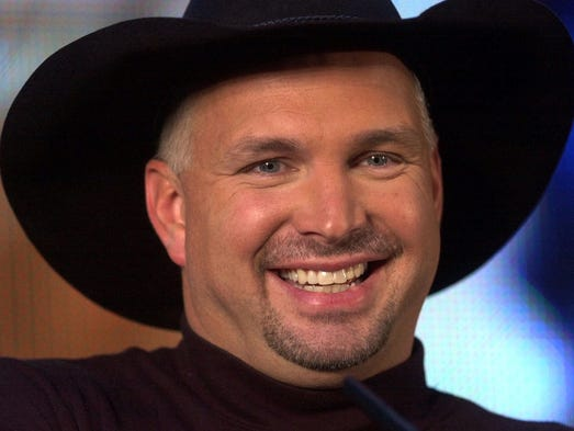 Country music star Garth Brooks talks about the release