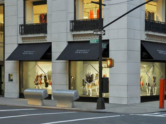 The high rent in his main Manhattan store is affecting Barneys, which could lead to bankruptcy protection, according to reports.