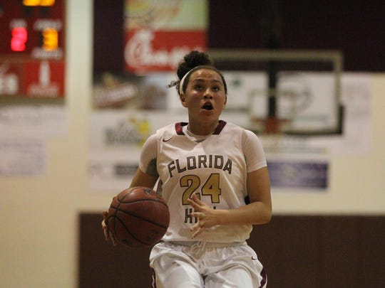 Florida High eighth-grader Jordan Rosier led the Seminoles with 13 points in a 53-49 win over Fernandina Beach on Saturday in a Region 1-5A final.