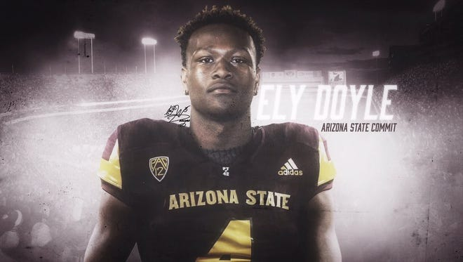 Elyjah Doyle, a safety from Mission Hills, Calif., is Arizona State's second commitment in its 2018 recruiting class.