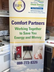 A poster promoting the New Jersey Comfort Partners