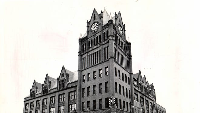 The Union Depot stood at Fort Street and Third from 1893-1974.