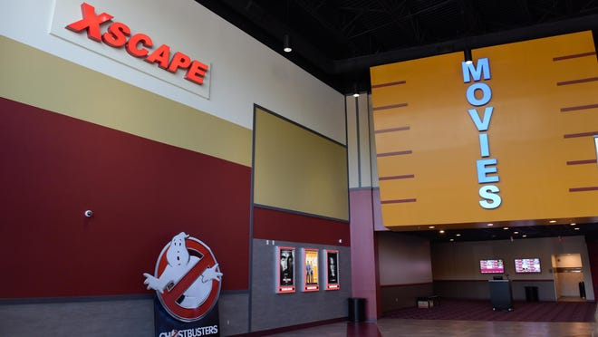 The new Xscape movie theater is located on Route 9 in Howell.