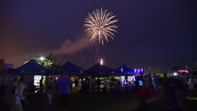 In past years, Wellington's Fourth of July celebration -- seen here in 2018 -- has drawn thousands of attendees from around the county.