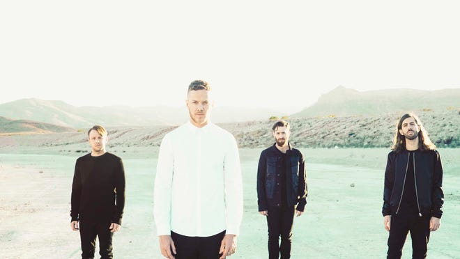 """Imagine Dragons' sophomore effort, """"Smoke and Mirrors,"""" is due in stores in February."""