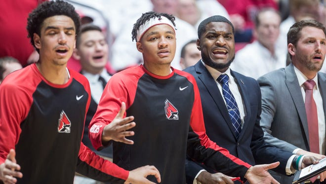 Ball State's took on Western Michigan to end their home season on Feb. 23 at Worthen Arena. Ball State lost 87-80.