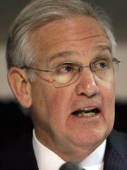 Former Missouri Gov. Jay Nixon made expanding the state's