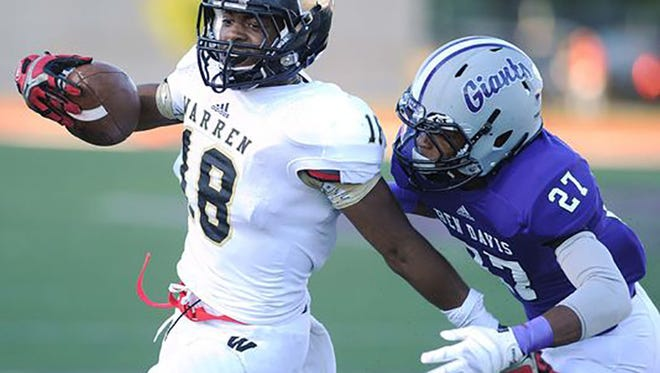 Mykelti Williams of Warren Central is on his way to Notre Dame.