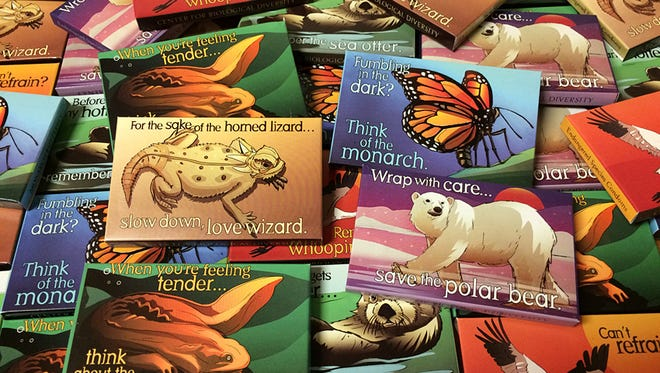 The Center for the Biological Diversity's endangered species condoms